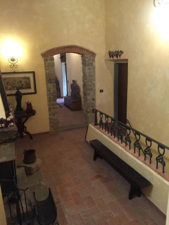 Colline San Biagio : Disimpegno esterno le camere