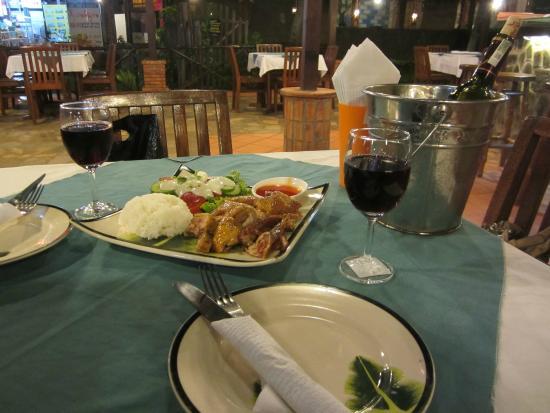 Bamboo Bamboo Restaurant : Наш ужин