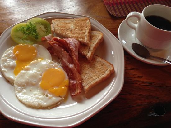 Dunedin Star Guest House: 無料の朝食