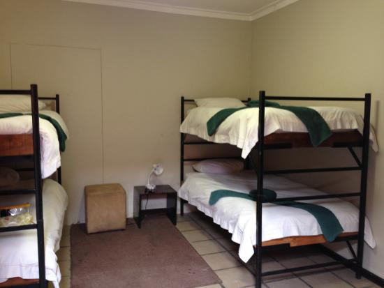Dunedin Star Guest House: 4人部屋