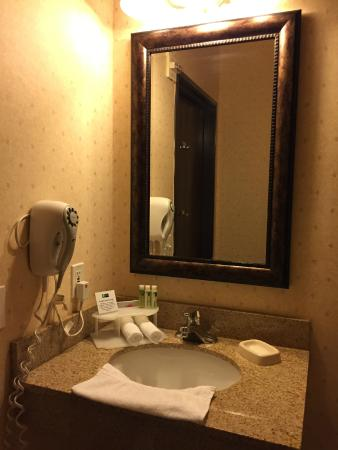 Holiday Inn Express Hotel & Suites - Marina : Bathroom sink