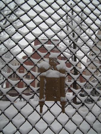 Kharkov Synagogue: Зима и синагога
