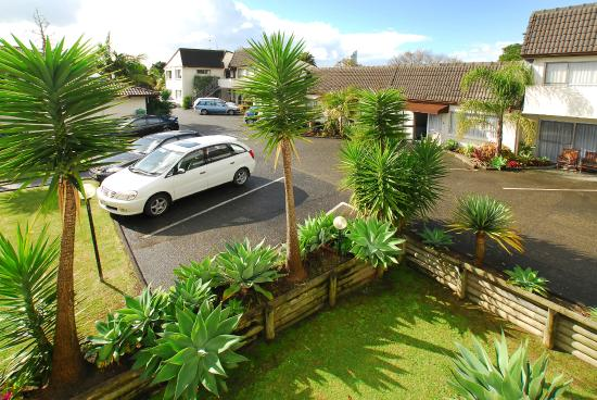 Takapuna Motor Lodge: Hotel Grounds