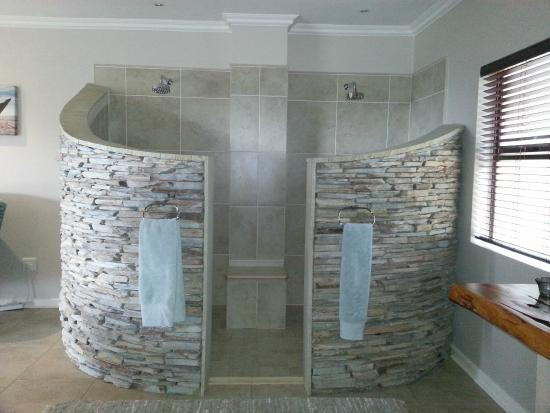 luxury double shower in presidential suite picture of meander