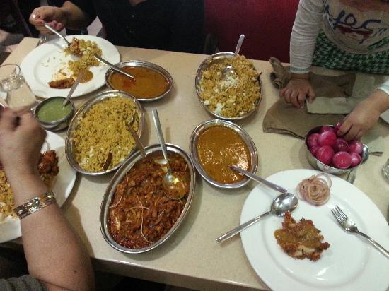 Have More : Buriani and Chicken Tikka Masala. Yummy.