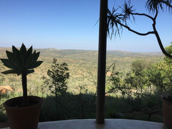 Sanctuary at Ol Lentille: View from Hotel reception