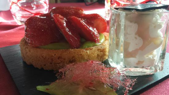 L'OURS BLANC RESTAURANT: Dessert gourmand...