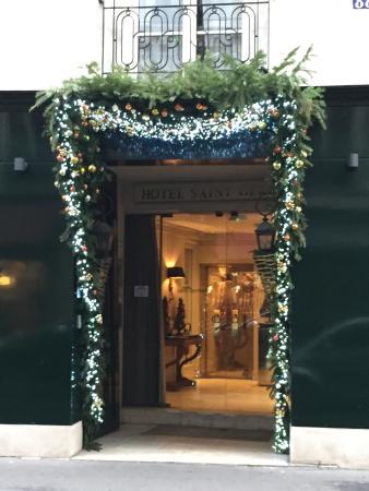 Hotel Saint Germain : Entrance
