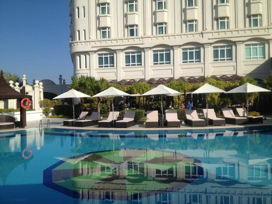 Radisson Blu Hotel, Muscat : Ambiance le matin vers 9 heures