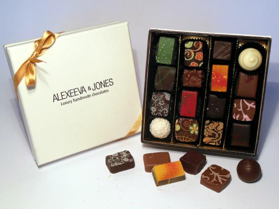 ‪Alexeeva & Jones Chocolates‬