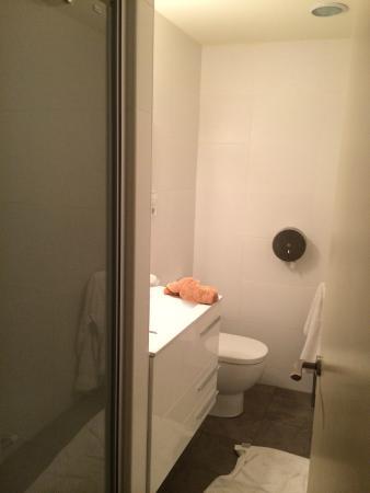 Itaca Hostel: Ensuite to the private room