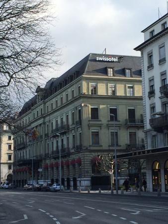Hotel Metropole Geneve: THIS THE HOTEL SWISSTOFEL METROPOLE