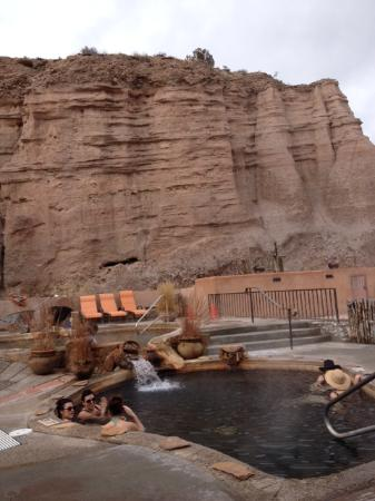 Ojo Caliente Mineral Springs Spa: One of many pools