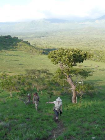 Campi ya Kanzi : Walking in the Chuylu Hills