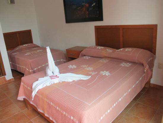 Hotel Los Arrecifes Costa Maya : Recámara