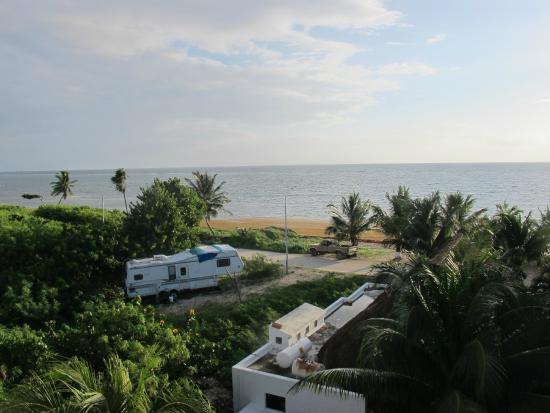 Hotel Los Arrecifes Costa Maya: Vista desde la habitación