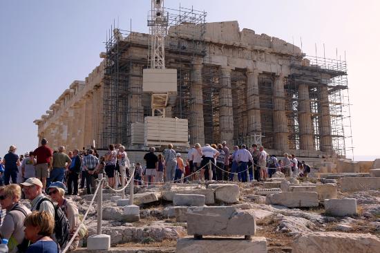 Parthenon Restoration | www.pixshark.com - Images ...