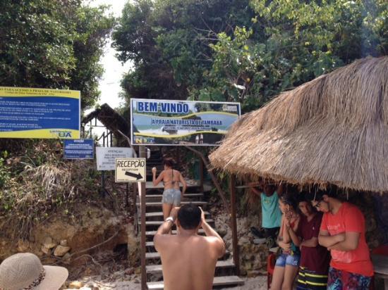 Sector no nudista apenas se ingresa a la playa for Paginas de nudismo