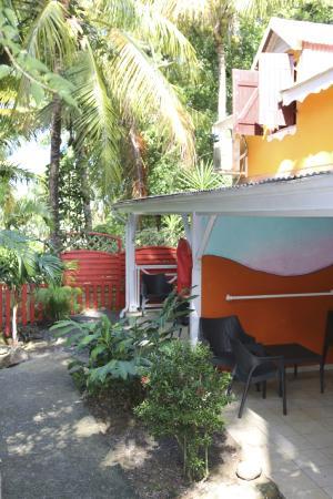 Caraib'Bay  Hotel: Terrasse des bungalows
