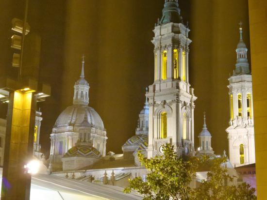 Apartamentos Sabinas El Pilar: vista dalla finestra