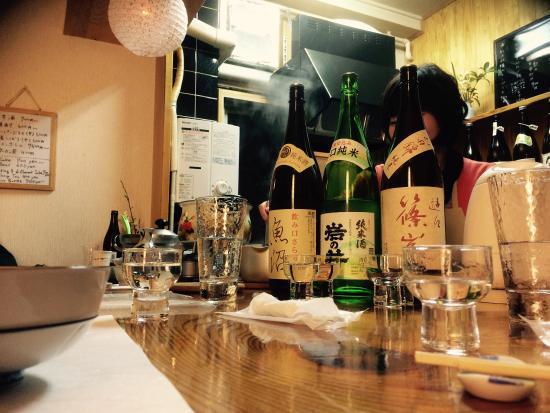 Doudou: mmmm! Sake ;)