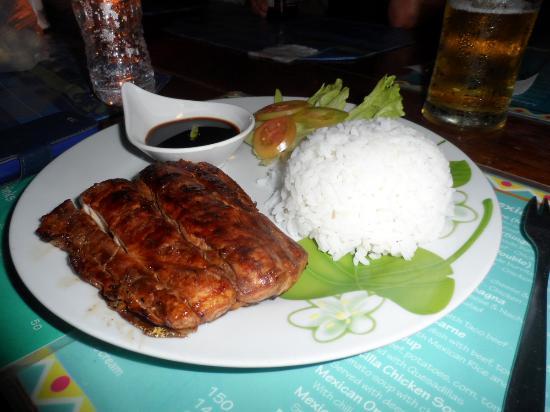 Mayas Native Garden Restaurant: good food