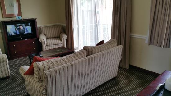 Courtyard Hotel Rosebank: lounge