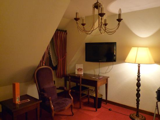 Hotel l'Abbaye d'Alspach: Chambre