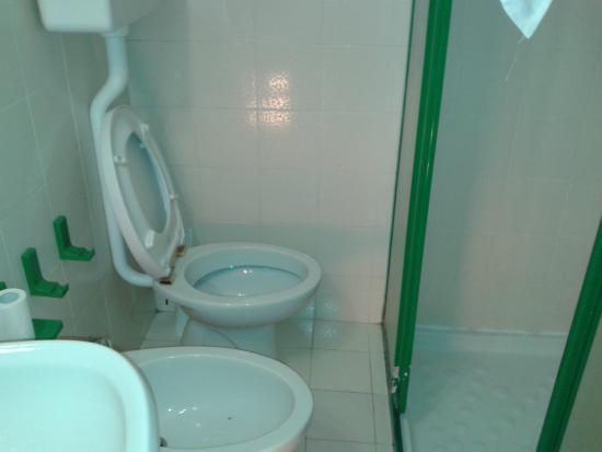 Stufetta elettrica per riscaldare il bagno !!! foto di hotel