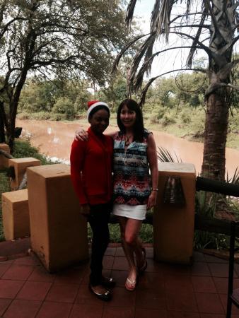Maramba River Lodge: Friendly staff at the lodge
