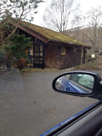 Lochearnhead Cottages & Log Cabins at Loch Earn: lodge 4/5 not sure what one right at top of big hill