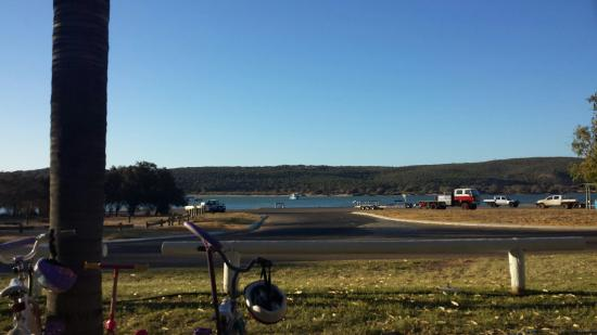 Kalbarri Anchorage Caravan Park: View from our site
