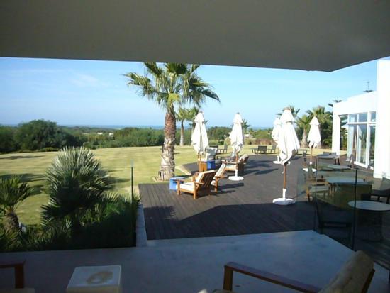 Mogador Golf Academy: Terrasse