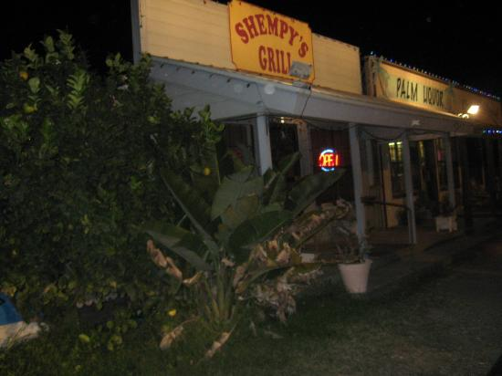 Shempy's Grill: Entrance and signage