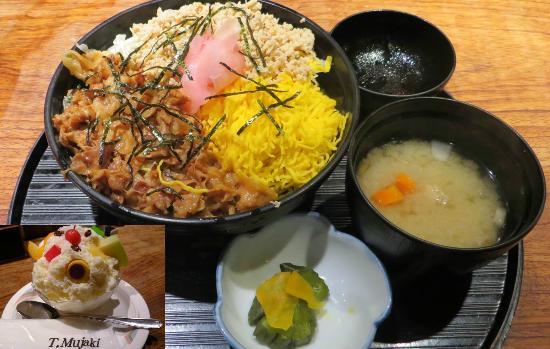Mujakitei: 味処むじゃき亭の黒豚わっぜえか丼