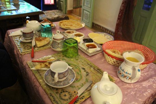 Riad Cherihane: colazione