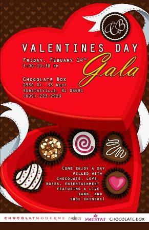 Valentines Day Invitation Picture Of Chocolate Box Robbinsville