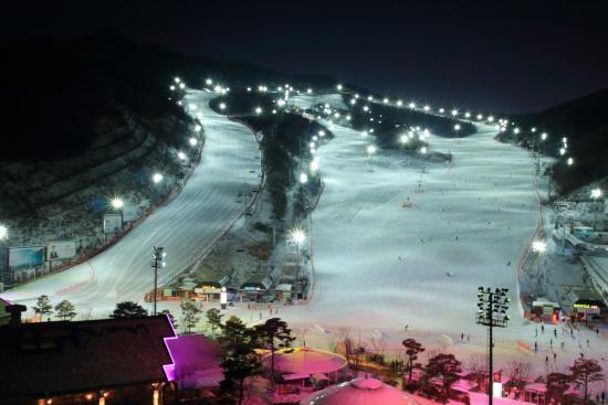 Konjiam Resort: Ski Site