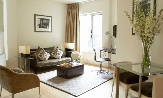 No. 5 Maddox Street : Superior Suite Living Room