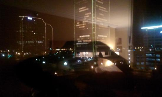 Delta Hotels by Marriott Richmond Downtown: my room view