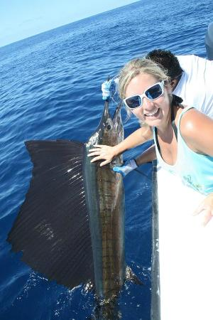 Nosara Paradise Rentals: Sailfish!