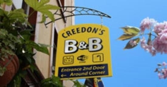 Creedon's Bed & Breakfast: Creedon's Welcome Sign