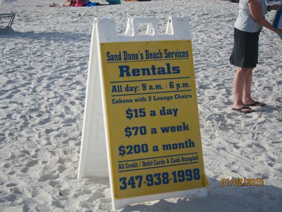Madeira Beach: rental rates