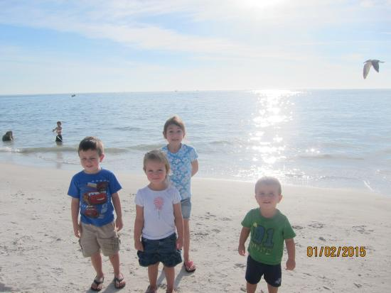 Madeira Beach: my kids