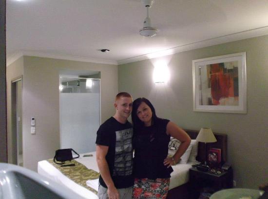Blue Lagoon Resort : Room - My Birthday Night