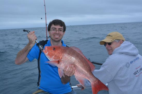 Distraction Charters: My biggest Red Snapper