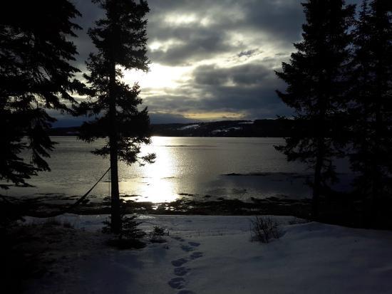 wow lever de soleil photo de chalets du bout du monde gasp 233 tripadvisor