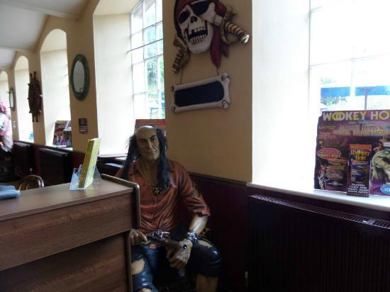 Wookey Hole Hotel: dining