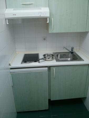 Hotel Apartamentos El Faro: Cocina