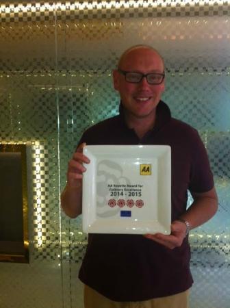 The Club Hotel & Spa: Bohemia @ The Club Hotel awarded 4 AA Rossettes
